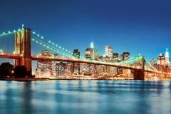 Флизелиновые обои Wizard & Genius: Нью-Йорк Ист Ривер, 366х254