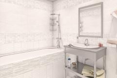 Керамическая плитка Altacera коллекция Wood White