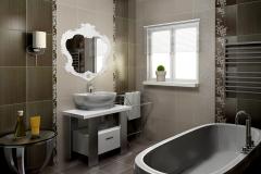 Плитка Сокол Доминикана в интерьере ванной