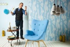 Обои AS Creation Lars Contzen FOUR RISING FLUID