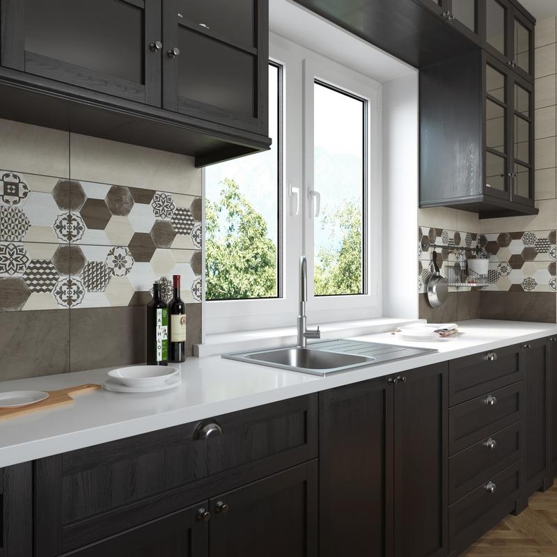 Керамическая плитка Керамин Винтаж для кухни
