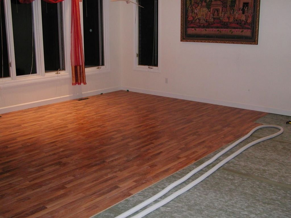 Подложка под линолеум на деревянный пол