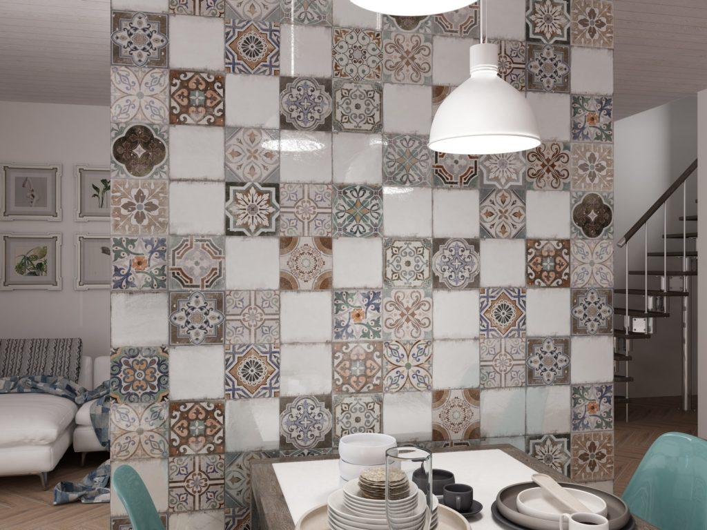 Керамическая плитка Gracia Ceramica Emilia в интерьере