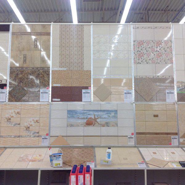 Витрина керамической плитки в Леруа Мерлен
