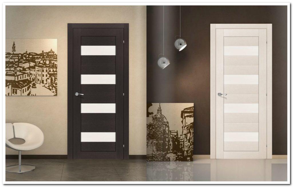 Межкомнатные двери экошпон
