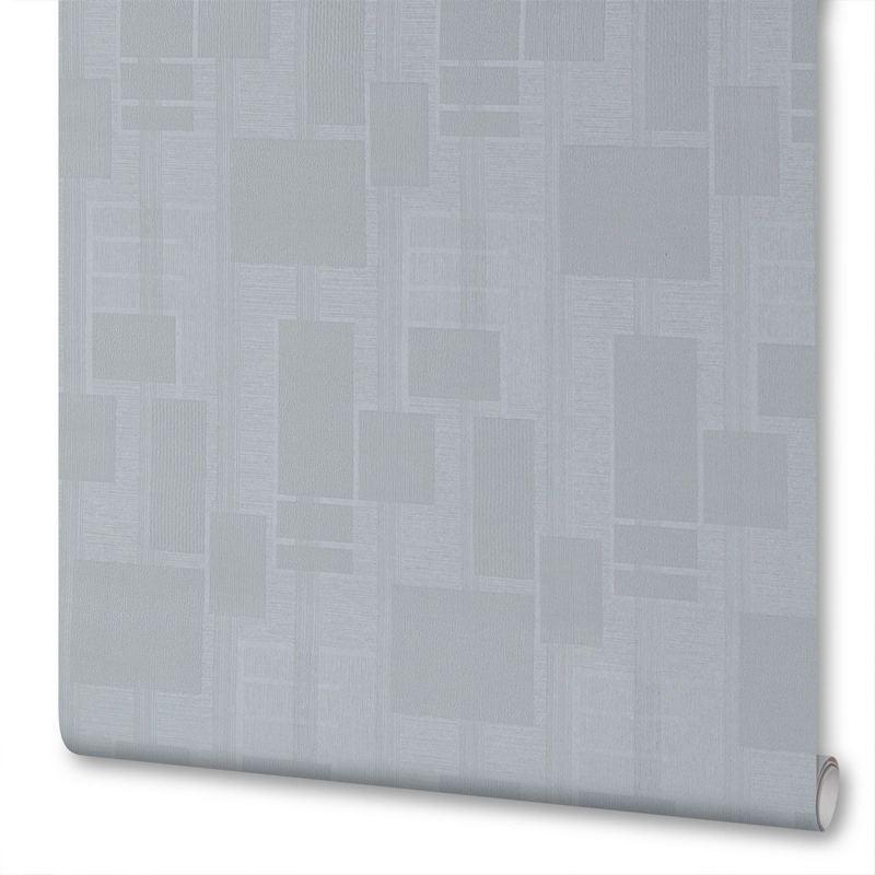 Обои на флизелиновой основе под покраску Erismann «Квадраты» ЭР2898-1, 1.06х10 м, цвет белый