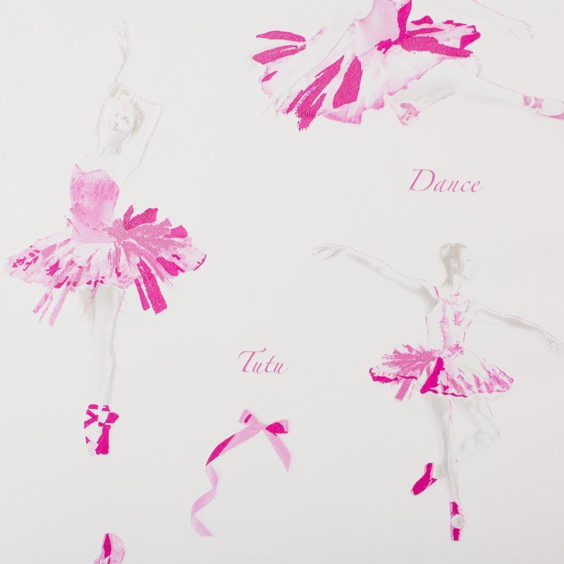 Обои виниловые для детской Балерина 0.53х10 м АС 305281