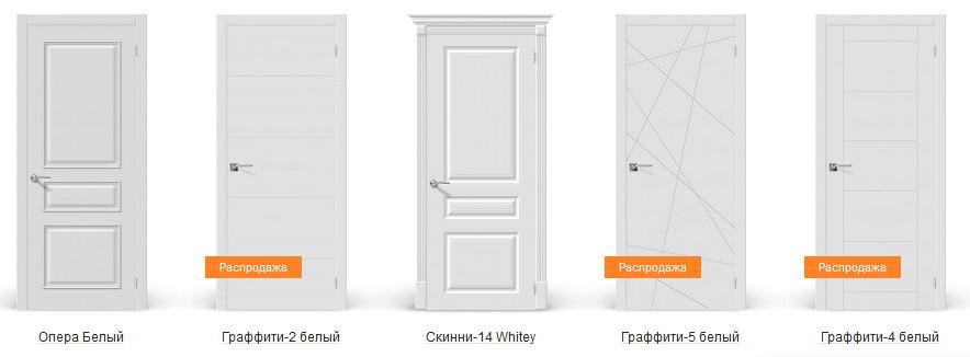 Двери Браво крашеные (эмаль)