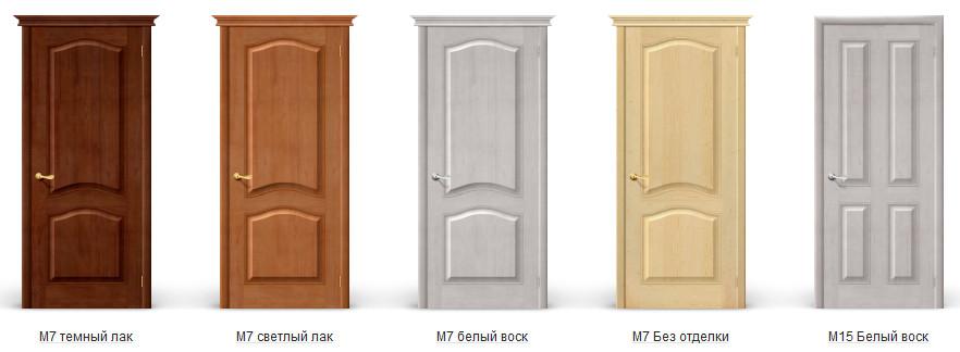 Межкомнатные двери Браво из массива