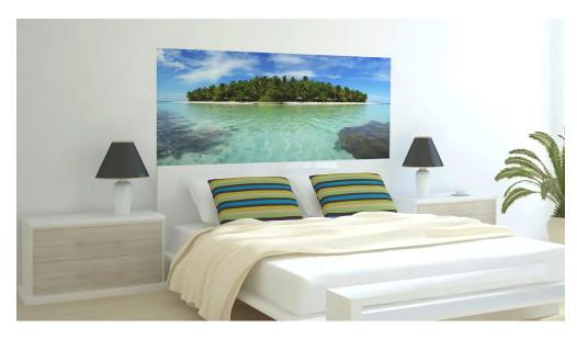 Фотообои флизелиновые «Остров» в интерьере в Леруа Мерлен