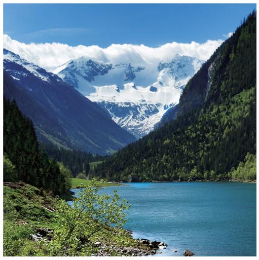 Фотообои флизелиновые «Озеро» 200х200 cм в Леруа Мерлен