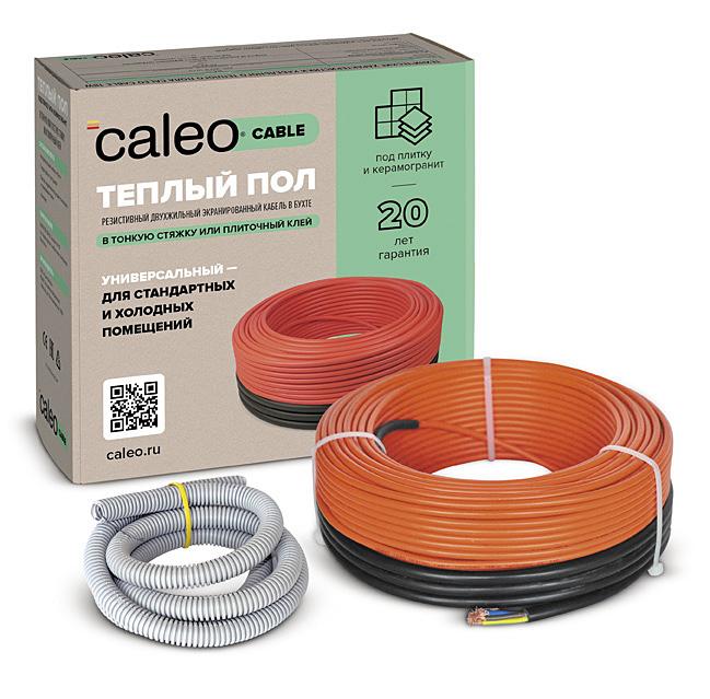 Кабельный теплый пол CALEO CABLE