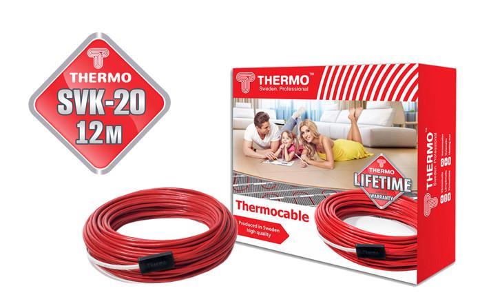 Теплый пол в стяжку Thermocable SVK-20