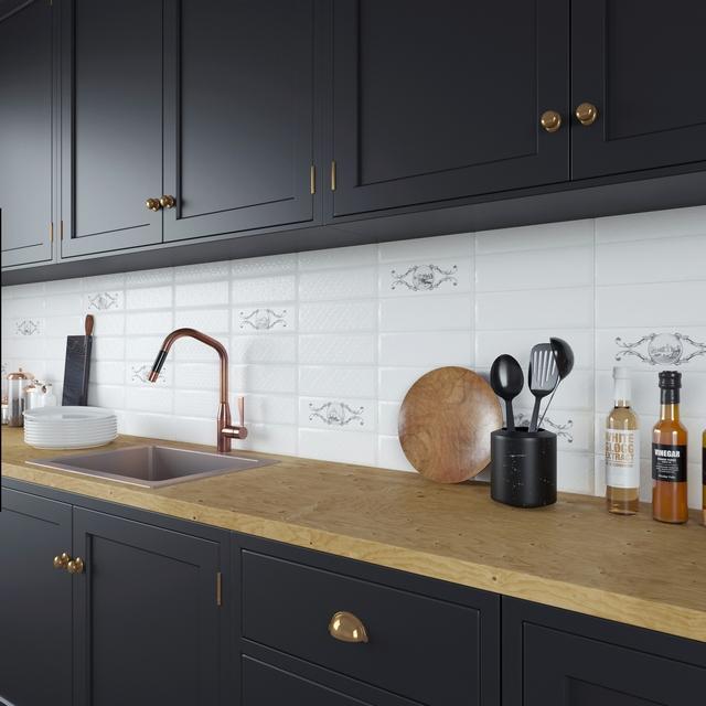 Керамическая плитка Керамин Классик в кухне