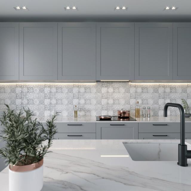 Керамическая плитка Керамин Тоскана в кухне