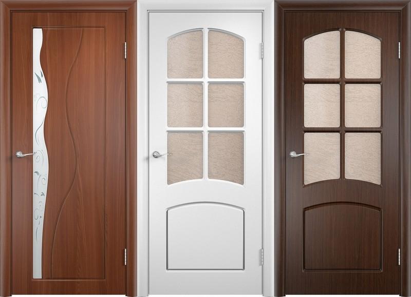 Межкомнатные двери их пластика (ПВХ)
