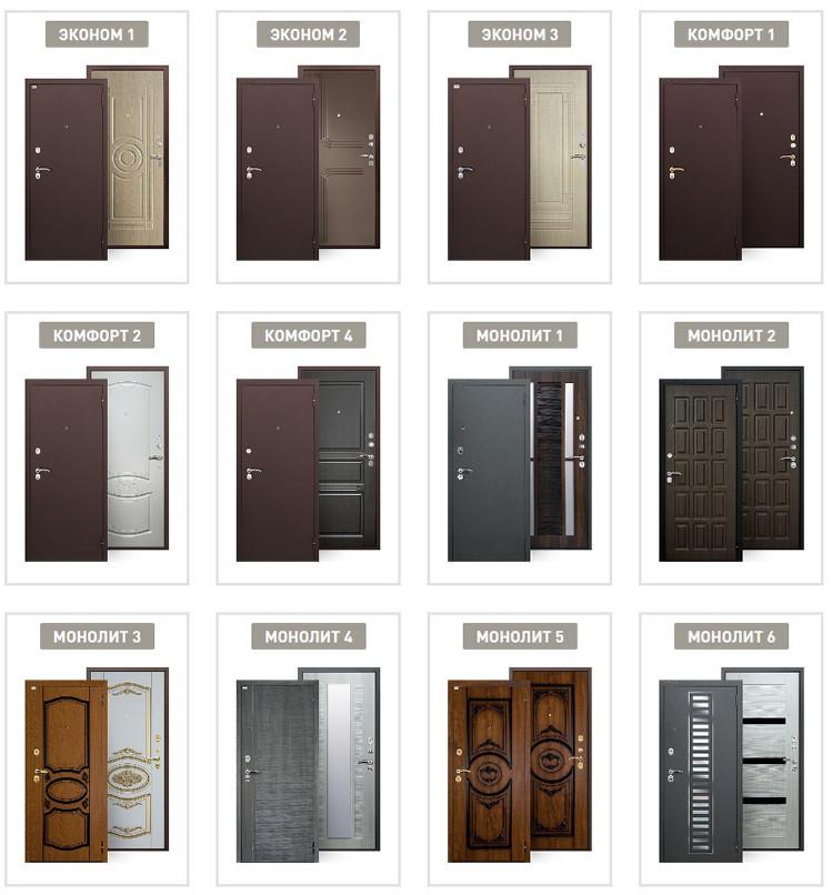Коллекции дверей Аргус