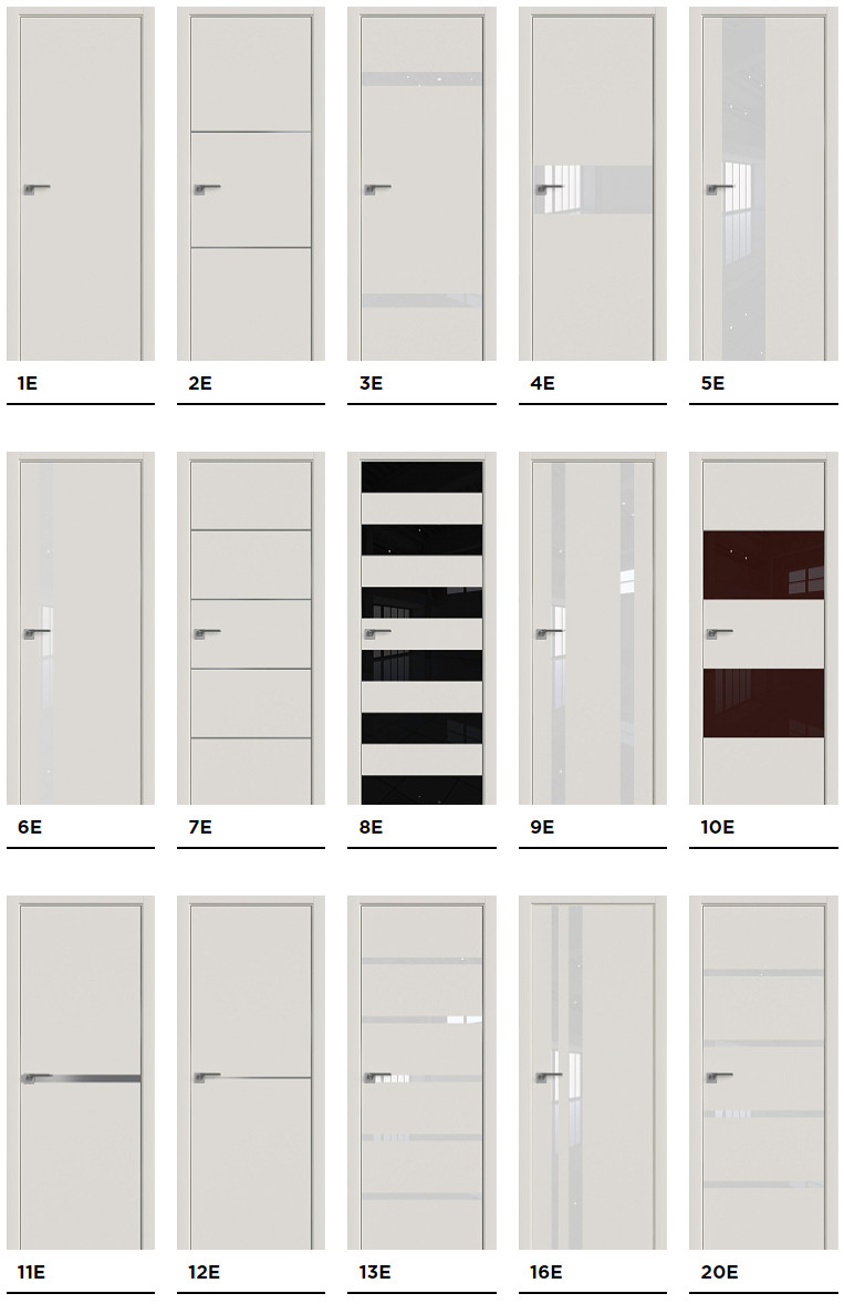 Межкомнатные двери Profil Doors серии E