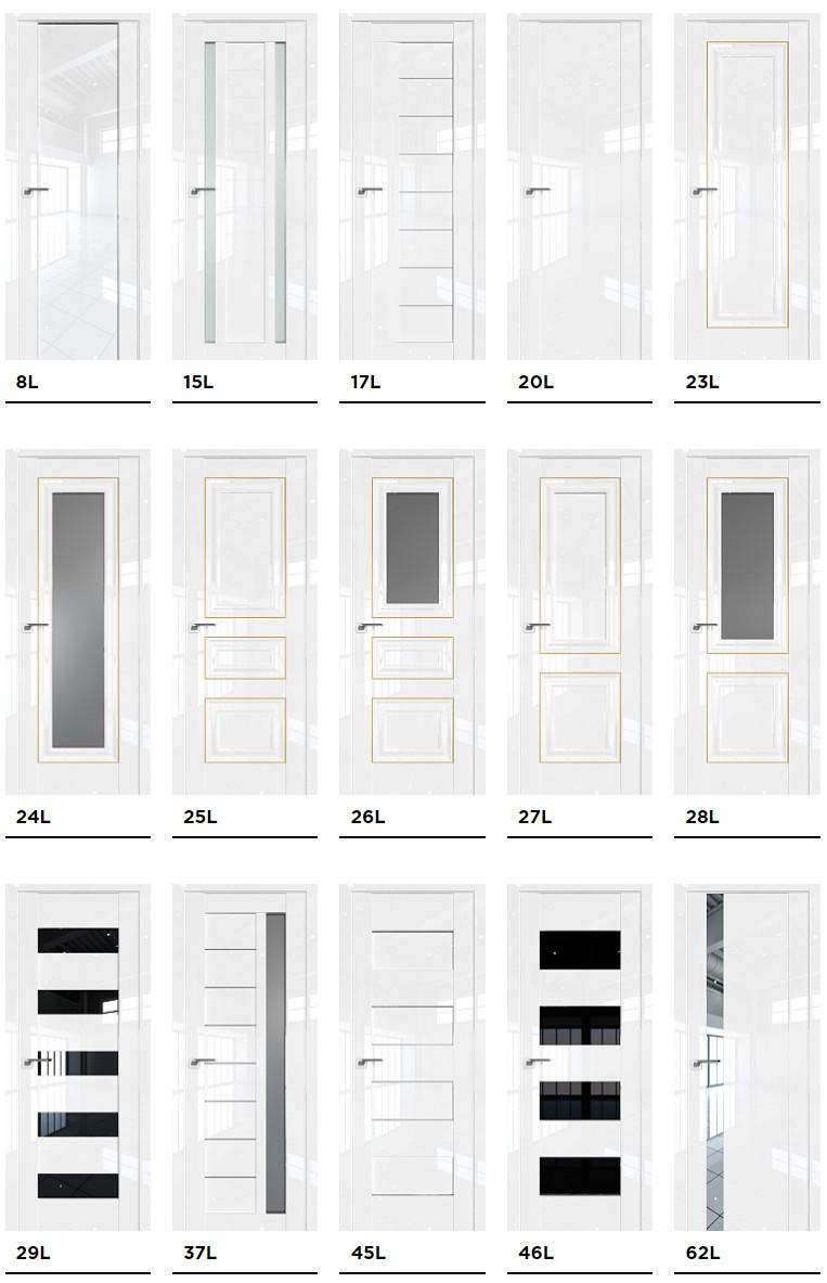 Межкомнатные двери Profil Doors серии L