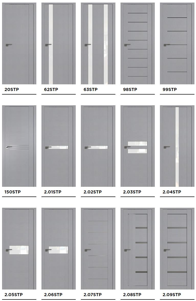 Межкомнатные двери Profil Doors серии STP