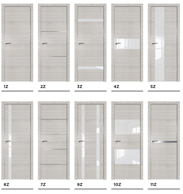 Межкомнатные двери Profil Doors серии Z