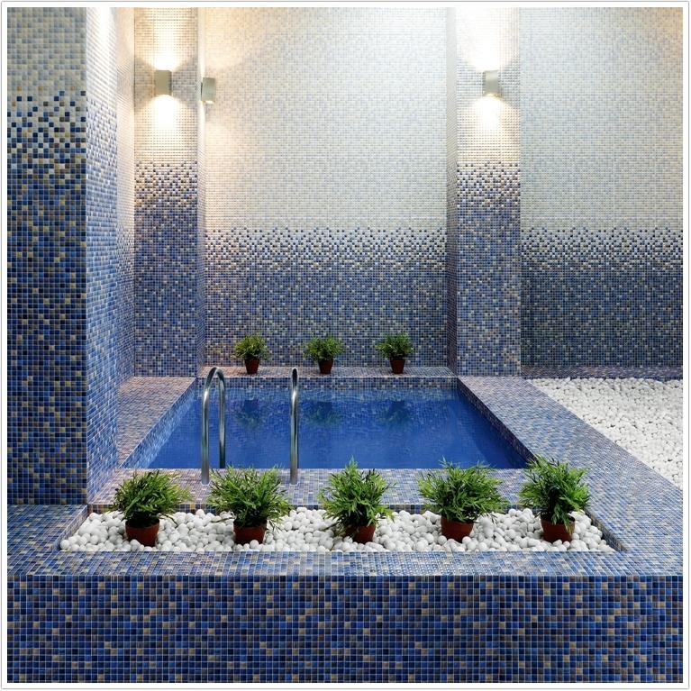 Керамическая плитка «Керамин Гламур» в интерьере
