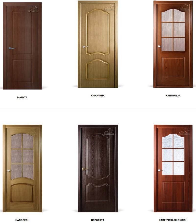 Межкомнатные двери BelWoodDoors Оптима