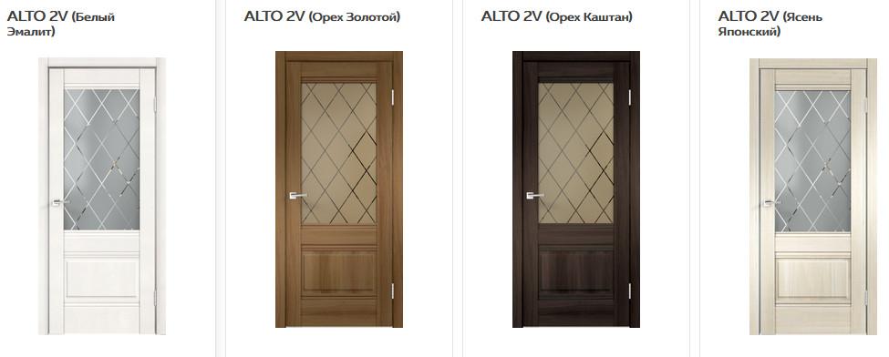 Межкомнатные двери VellDoris Alto