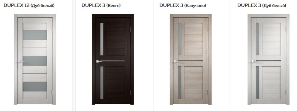 Межкомнатные двери VellDoris Duplex