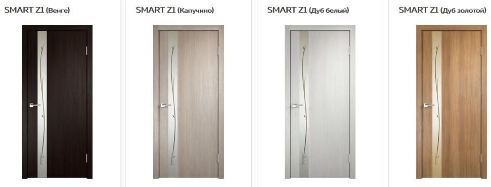 Межкомнатные двери VellDoris Smart