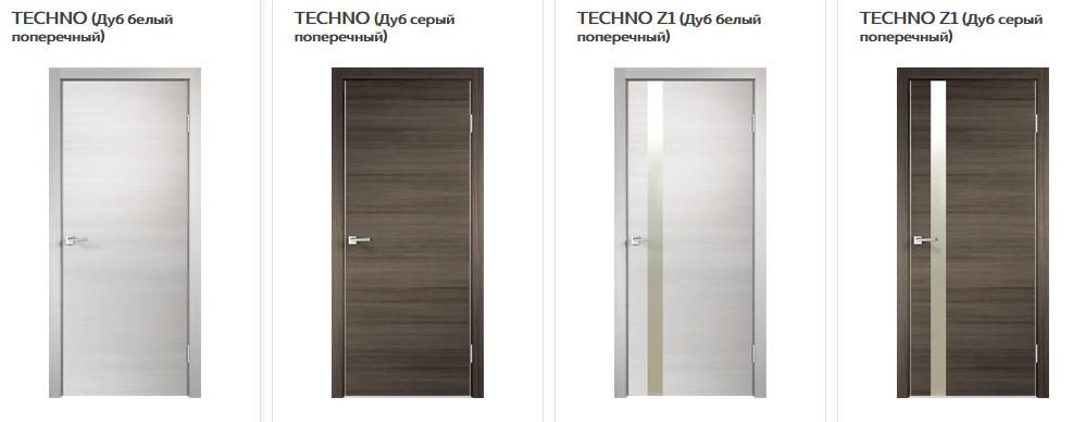 Межкомнатные двери VellDoris Techno