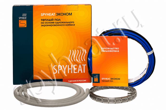 Одножильный тёплый пол 0,7-1,4м2 SPYHEAT Эконом мощностью 150Вт
