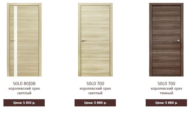 Межкомнатные двери Марио Риоли Solo