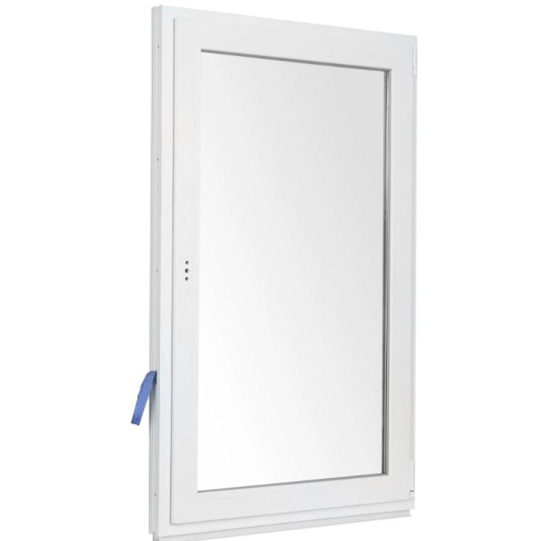 Окно ПВХ одностворчатое 90х60 см в Леруа Мерлен