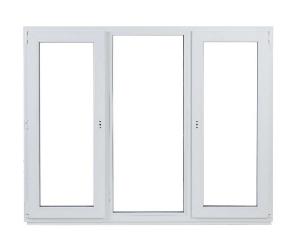 Окно ПВХ трёхстворчатое, 144х175 см в Леруа Мерлен