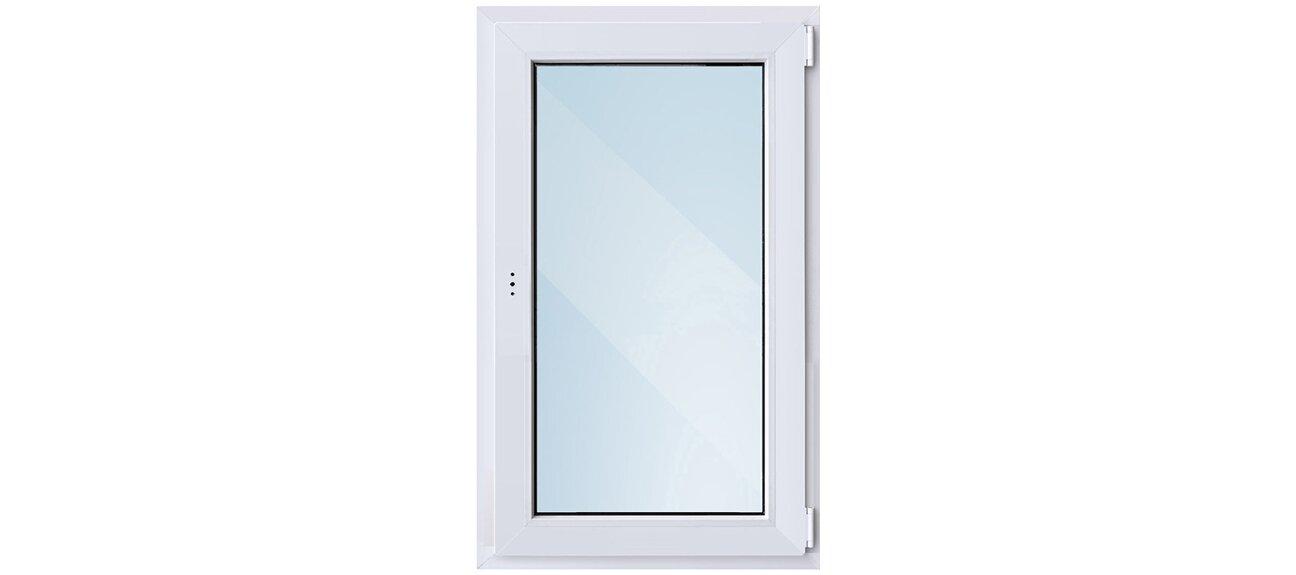 Окно ПВХ одностворчатое 900x600 мм в ОБИ