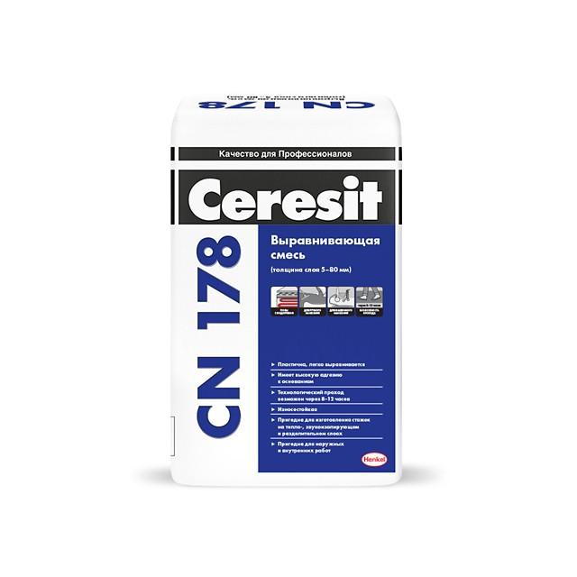 Наливной пол CERESIT CN 178