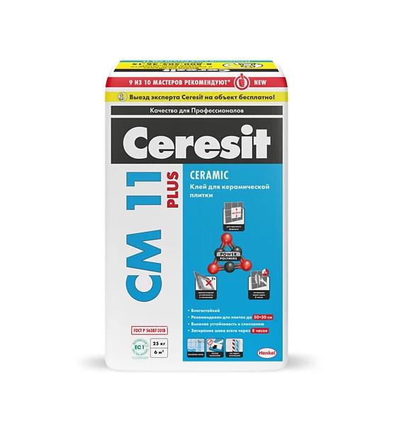 Плиточный клей Ceresit CM 11 Plus