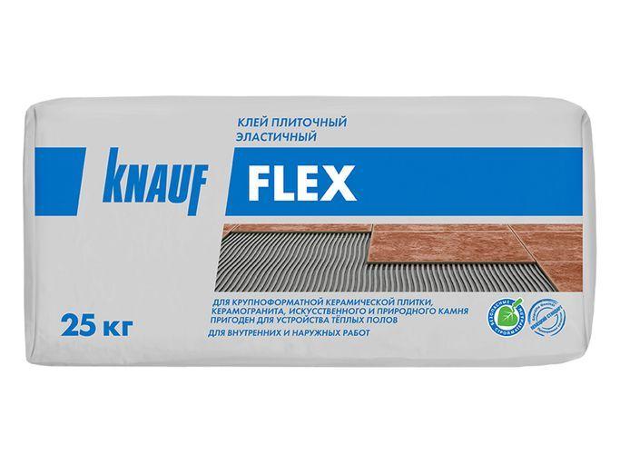 Плиточный клей Кнауф Флекс