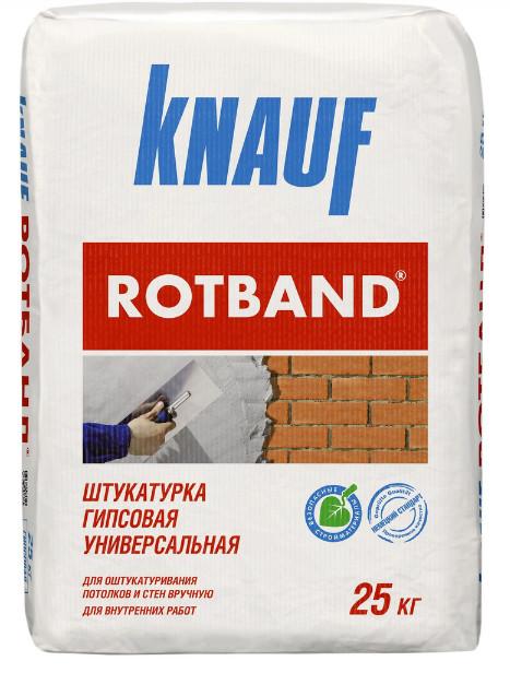 Штукатурка Кнауф Ротбанд 25кг