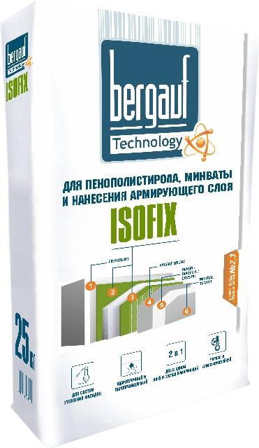 Клей для плитки Bergauf Isofix