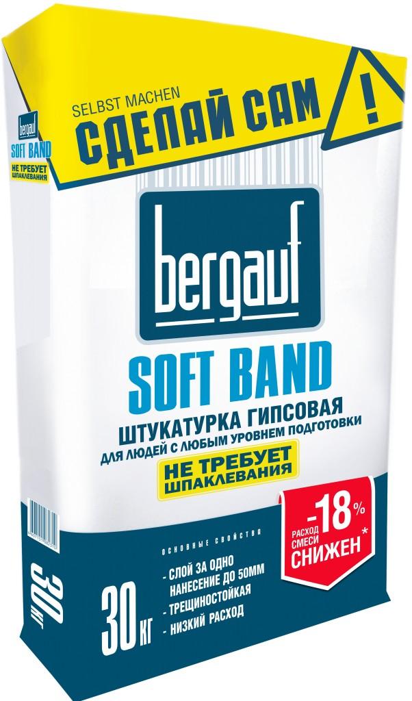 Штукатурка Bergauf SOFT BAND