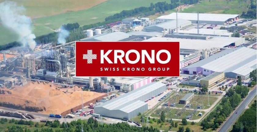 Завод по производству ламината Кронопол