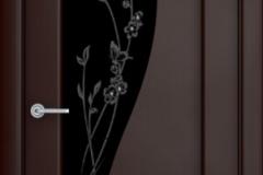 Дверь Верда Ирис, венге темный