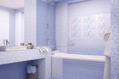 Керамическая плитка Altacera коллекции BLIK Azul