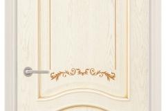 Межкомнатная дверь Верда Алина-2 3D глухая
