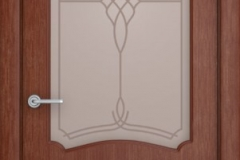 Межкомнатная дверь Верда Каролина остекленная