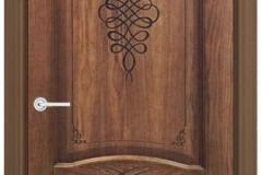 Межкомнатная дверь Верда Наполи 3D глухая