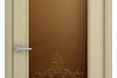 Межкомнатная дверь Верда Шервуд Лондон остекленная