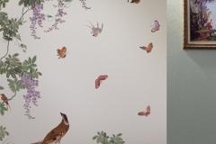 Обои Loymina коллекция Jetset Birds of Paradise